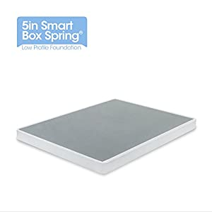 Zinus 5 inch low profile smart box spring full Low profile box spring