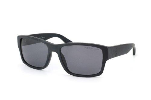 f316238ce827 Polo 4061 500181 Matte Black 4061 Wayfarer Sunglasses Polarised