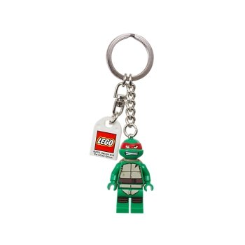 LEGO Teenage Mutant Ninja Turtles Raphael Keychain