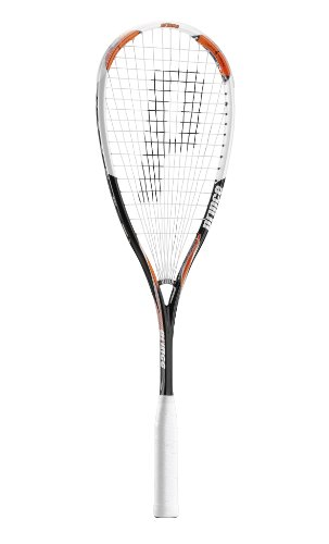 Prince Airstick 140 Power Unisex Squash Racquet - Black/Orange/White