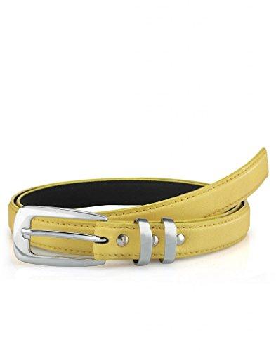Oleva Yellow Ladies Belt OLB 29