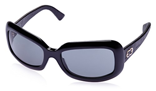 Escada Escada Oversized Sunglasses (Black) (SES 104V|700|Free Size)