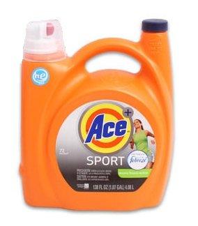 Ace Sport Active Fresh Scent With Febreze Liquid Detergent 138 Oz
