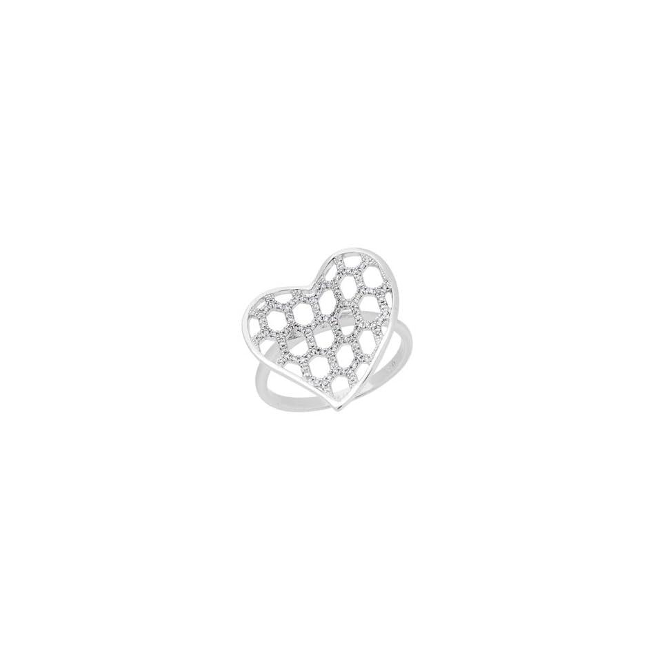 0.20 Carat 18kt White Gold Diamond Ring