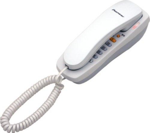 【Amazonの商品情報へ】Pioneer ベーシックテレホン 色:パールホワイト TF-08-W