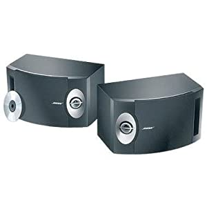 BOSE 201-V Stereo Loudspeakers (Pair) - Black