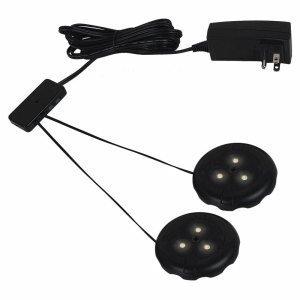 Sea Gull Lighting 98852Sw-12 Accessory - 2 Led Disk Light Kit, Black Finish