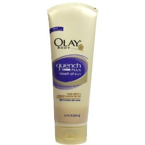 Best Cheap Deal for Olay Body Quench Plus Touch of Sun Body Lotion, Light/Medium Skin Tones, 6.7 fl oz by Olay - Free 2 Day Shipping Available