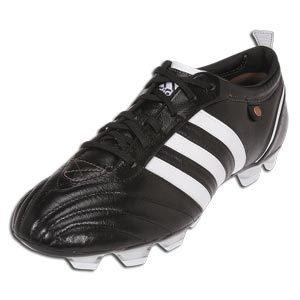 Adidas adiPURE FG Black/White Size 13