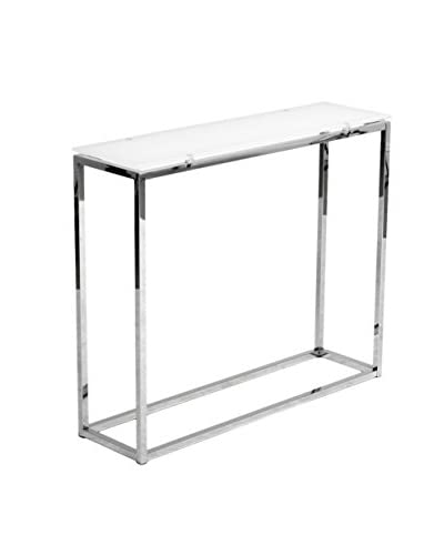 Euro Style Sandor Console Table, White