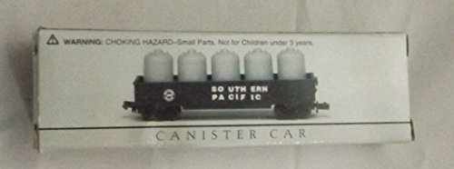 "Miniature Southern Pacific Canister Car (Approx. Size 3 3/4"" x 7/8"" x 1 1/4"")"