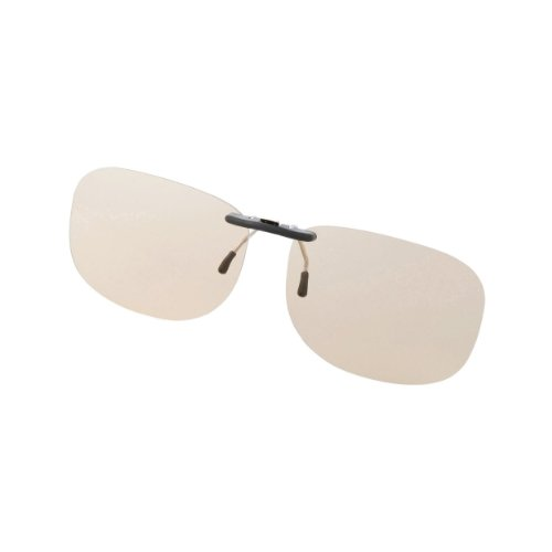 Elecom Blue Light measures Glasses PC GLASSES (50% cut) (clip-on type ? L size) OG-CBLP01BRL (Elecom Blue Light compare prices)