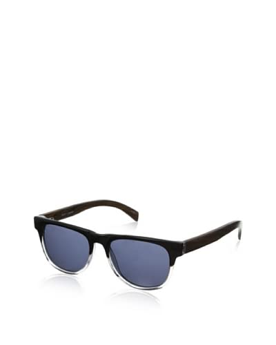 Ivory + Mason Men's Arden Sunglasses, Black Crystal/Walnut