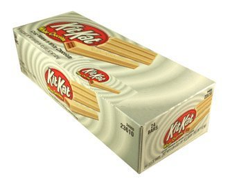 Kit Kat White Chocolate Candy Bar 24 ct