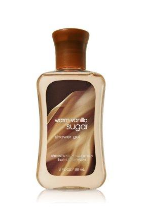 バス&ボディワークス ウォームバニラシュガーシャワージェル トラベルサイズ Warm Vanilla Sugar Shower Gel TravelーSize