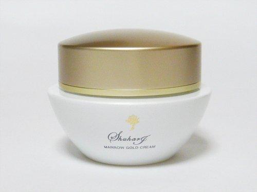 烏骨鶏マロー配合 プレミアム基礎化粧品 マローゴールドクリーム (エモリエント成分含有栄養クリーム) シュハリ