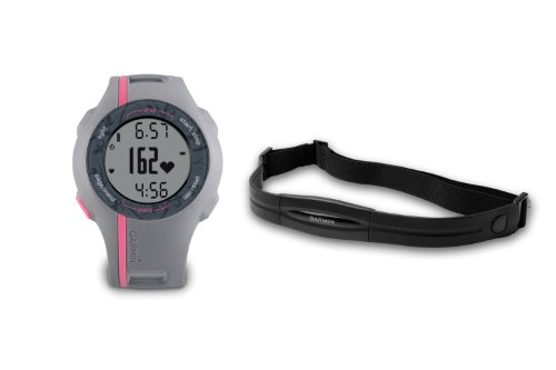 Garmin Forerunner 110 GPS Enabled Womans Sports Watch with Heart Rate Monitor