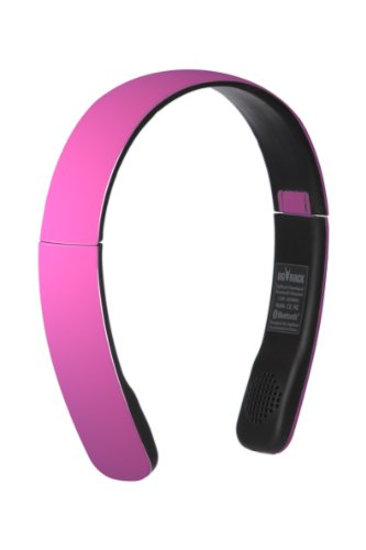 Dgrock Hearband Bluetooth Stereo Wireless And Wired A2Dp Headphones Headband Hairband With Microphone (Pink)
