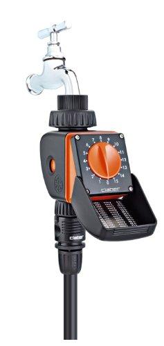 Claber 53922 8422 Aquauno Logica Programmatore, Nero/Arancione