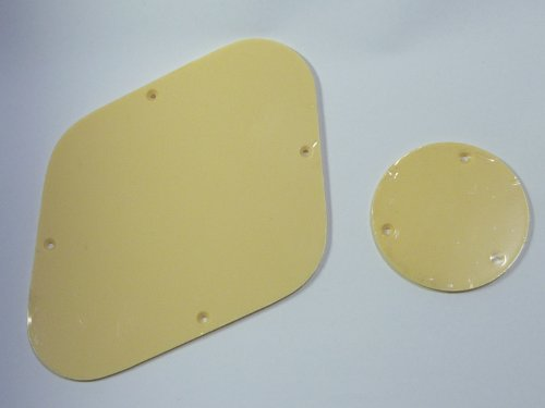 (Gemacht in Japan)High Quality LP Controll Cavity Back Plate, Switch Plate set Elfenbein