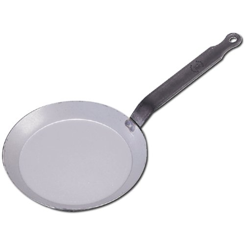 DeBuyer Steel Crepe Pan, Made of Heavy Quality Steel - 26cm (10