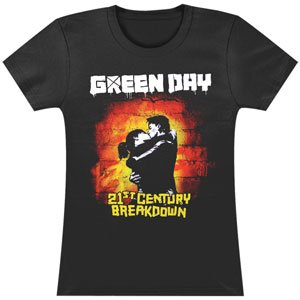 Green Day 21st Century Girls Jr Large
