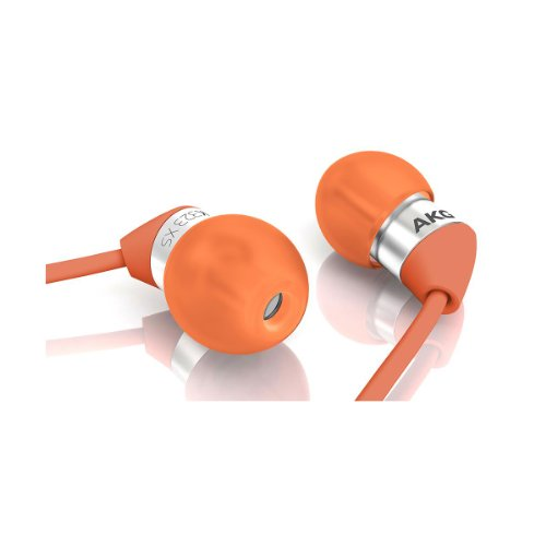 Akg K323Xs In-Ear Headphones (Red/Orange)