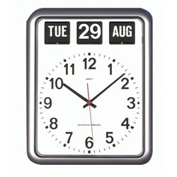 Amazon Com Large Wall Clock For Alzheimer S And Dementia