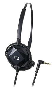 Audio Technica ATH-FW33 BK Black | Portable Headphones (Japan Import)