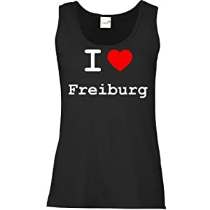 getshirts - Best of - Tank Top Damen - love - I love Freiburg