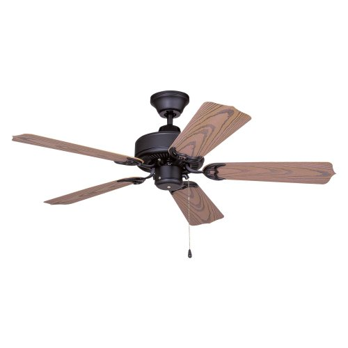Ellington WOD42MBK5X All-Weather 42 in. Outdoor Ceiling Fan - Matte Black
