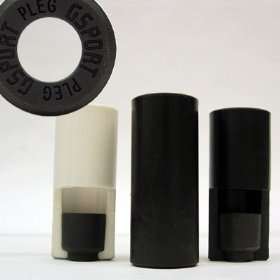 Gsport PLEG Axle Peg Peg 14mm Each Black
