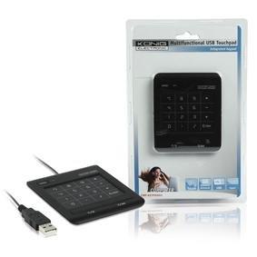 Konig Numeric Multi-Touch Keypad - Black