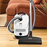 Miele Delphi S2120 Canister Vacuum Cleaner with SEB217-3 Powerhead w/ Free  ....