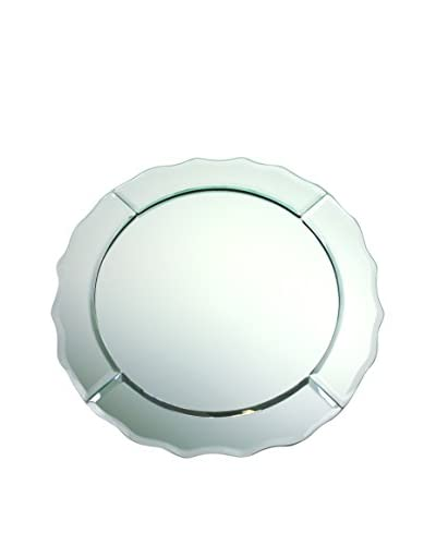 ChargeIt! by Jay Scalloped Mirror Charger