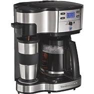 Hamilton-Proctor 49980Z Hamilton Beach 2-Way Coffee Brewer-2 WAY BREWER