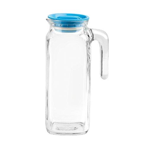 Caraffa Brocca in vetro TEMPERATO conservare frigorifero freezer Bormioli Frigoverre Caraffa 1Lt