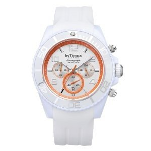 腕時計 Intimes Chrono 100M W-r White Color Men\'s Watch IT-069 [並行輸入品]