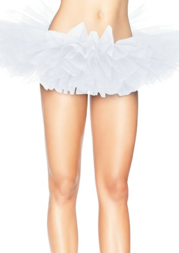 Wingeler Women Tutu Skirt Dress Adlut Ballerina White