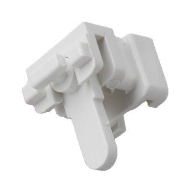 Swish - Lot de 5 supports de fixation à levier Supreme / Deluxe - blanc