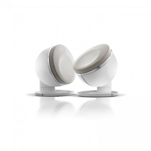 Focal - Dome 2.0 2-Way Ultra Compact Satellite Speaker - White (Pair)