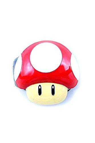 Nintendo, Super Mario iony Up Mushroom Buckle 3D con cintura