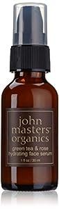 John Masters Organics - Face Serum Hydrating Green Tea and Rose - 1 oz.