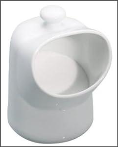 Kitchen Craft - Salero de porcelana, color blanco   Comentarios y más información