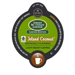 Green Mountain Coffee Island Coconut 64 Vue For Keurig Brewers