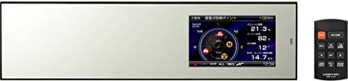 コムテック 4.0インチ液晶 ミラータイプ  高感度GPSミラーレーダー探知機( ドライブレコーダー接続対応) ZERO 85M