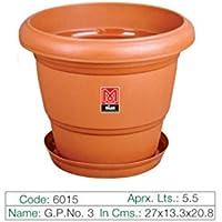 Milan Green Planter - 03 5.5 Ltr