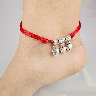 Tibetan Silver Sterling Silver Bangle Anklet Chain Bracelet Jewellery Quality Style NO.10094