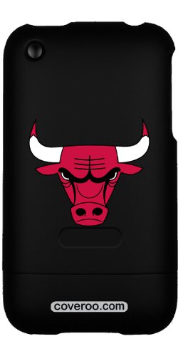 Coveroo Chicago Bulls - Bull Head design on a Black iPhone 3G/3GS Slider Case at Amazon.com