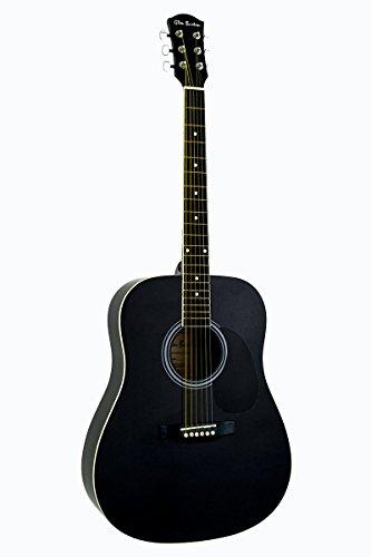 Full-Size-41-Naural-Lefty-Left-Handed-Premium-Dreadnought-Steel-String-Acoustic-Guitar-DirectlyCheapTM-Translucent-Blue-Medium-Guitar-Pick-AC-101